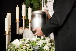 direct cremation arrangements for cremated remains